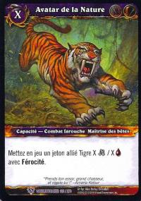 warcraft tcg worldbreaker foreign avatar of the wild french