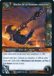warcraft tcg war of the elements french axe of the grounded flame french