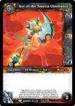 warcraft tcg war of the ancients axe of the tauren chieftans