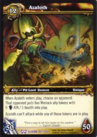 warcraft tcg the hunt for illidan azaloth