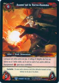 warcraft tcg twilight of dragons foreign azami tal the flamebender french
