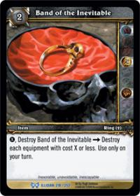 warcraft tcg archives band of the inevitable foil