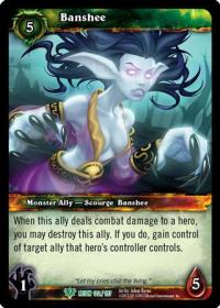 warcraft tcg reign of fire banshee
