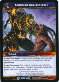 warcraft tcg crown of the heavens foreign bash and slash german