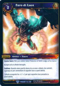 warcraft tcg twilight of dragons foreign beacon of light italian