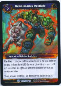 warcraft tcg throne of the tides french bestial revival french