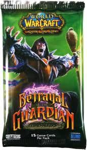 warcraft tcg warcraft sealed product betrayal of the guardian booster pack