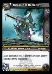 warcraft tcg naxxramas betrayer of humanity