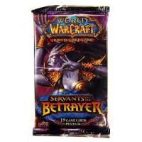 warcraft tcg warcraft sealed product servants of the betrayer booster pack