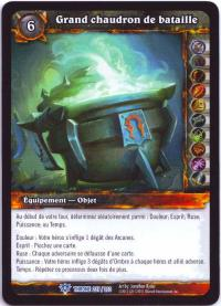 warcraft tcg throne of the tides french big cauldron of battle french