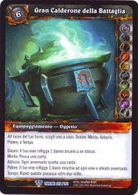 warcraft tcg throne of the tides italian big cauldron of battle italian