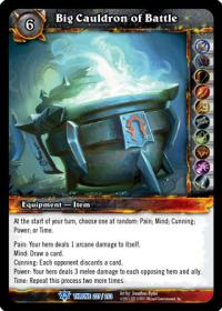 warcraft tcg throne of the tides big cauldron of battle