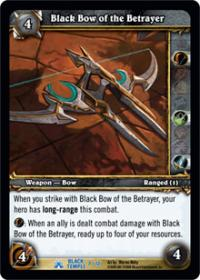 warcraft tcg black temple black bow of the betrayer