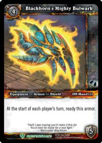 warcraft tcg battle of aspects blackhorn s mighty bulwark