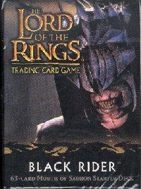 lotr tcg black rider black rider starter deck mouth of sauron