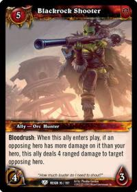 warcraft tcg reign of fire blackrock shooter