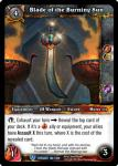 warcraft tcg twilight of the dragons blade of the burning sun