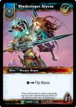warcraft tcg foil hero cards bladesinger alyssa