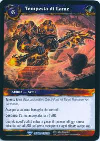 warcraft tcg crown of the heavens foreign bladestorm italian