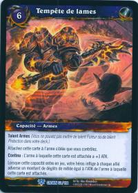 warcraft tcg crown of the heavens foreign bladestorm french