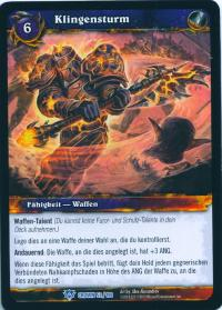 warcraft tcg crown of the heavens foreign bladestorm german
