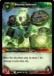 warcraft tcg war of the ancients blazing infernal