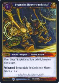 warcraft tcg worldbreaker foreign blessing of the kindred german