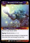 warcraft tcg throne of the tides blessing of the light