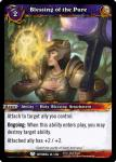 warcraft tcg betrayal of the guardian blessing of the pure