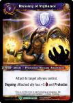 warcraft tcg war of the ancients blessing of vigilance