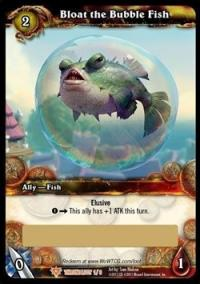 warcraft tcg loot cards bloat the bubble fish loot