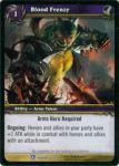 warcraft tcg fields of honor blood frenzy