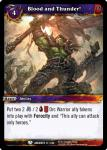 warcraft tcg war of the ancients blood and thunder