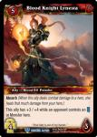 warcraft tcg betrayal of the guardian blood knight lynesta