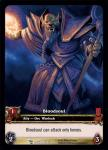 warcraft tcg extended art bloodsoul ea