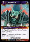 warcraft tcg throne of the tides bloodsurge