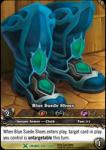 warcraft tcg extended art blue suede shoes ea