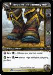 warcraft tcg scourgewar boots of the whirling mist