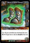 warcraft tcg reign of fire boots of kael thas