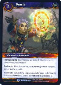 warcraft tcg crown of the heavens foreign borrowed time french