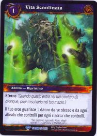 warcraft tcg throne of the tides italian boundless life italian