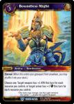 warcraft tcg throne of the tides boundless might