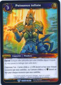 warcraft tcg throne of the tides french boundless might french