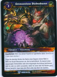 warcraft tcg crown of the heavens foreign boundless thievery german