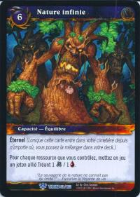 warcraft tcg throne of the tides french boundless wild french