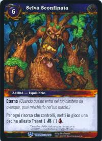 warcraft tcg throne of the tides italian boundless wild italian