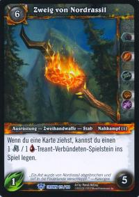 warcraft tcg crown of the heavens foreign branch of nordrassil german