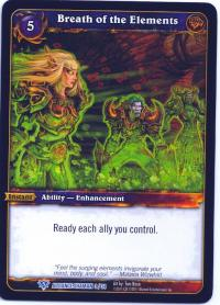 warcraft tcg class decks 2011 fall breath of the elements cd