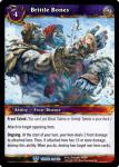 warcraft tcg throne of the tides brittle bones