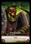 warcraft tcg extended art brok bloodcaller ea
